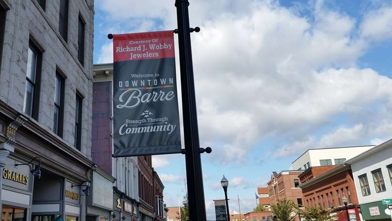 photo of downtown Barre VT