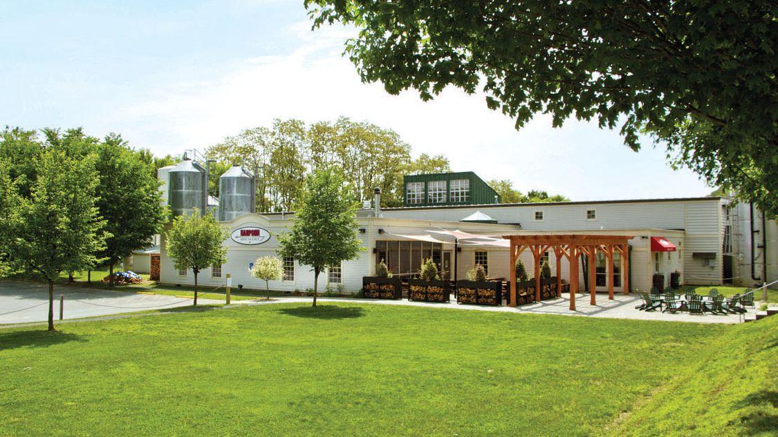 photo of Harpoon Brewery exterior in Windsor, Vermont