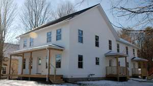 Images of Green Mountain Habitat for Humanity house in Essex Junction, VT