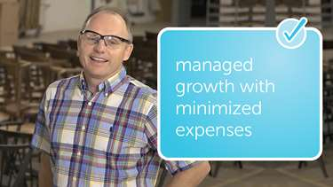 managed growth with minimized expenses