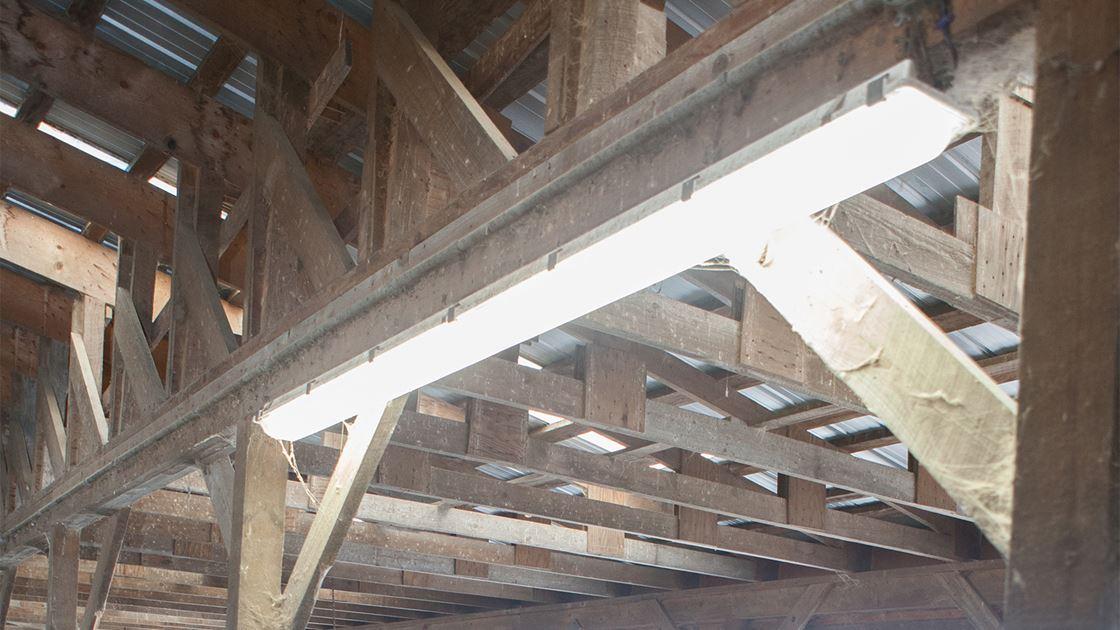 Farm Lighting Led Vapor Proof Fixtures Efficiency Vermont