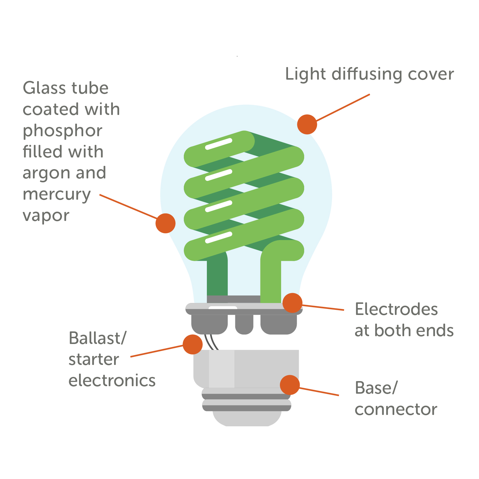 Cfl Light Bulb Diagram - List of Wiring Diagrams on