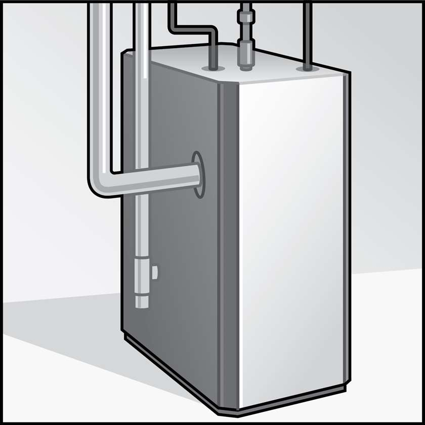 An illustration of a Boilers