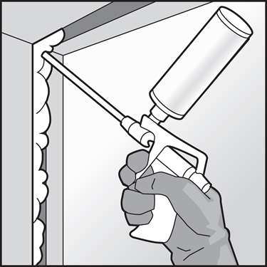 An illustration of a DIY Insulation and Air Sealing