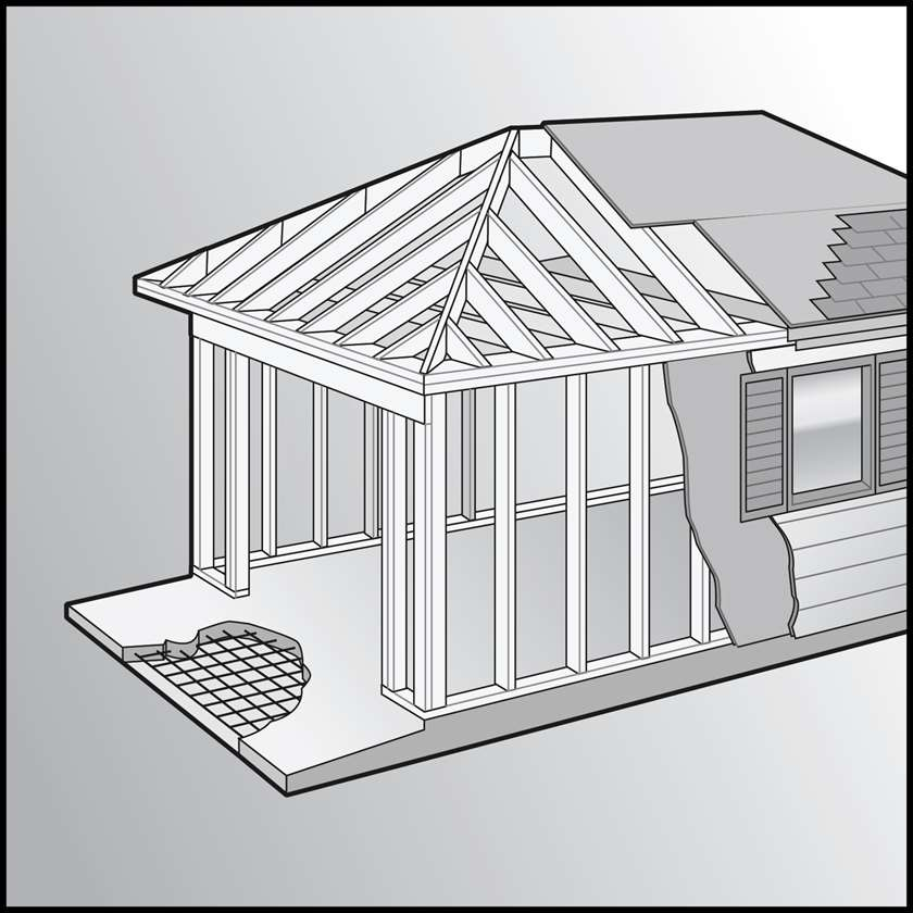 An illustration of a Residential New Construction
