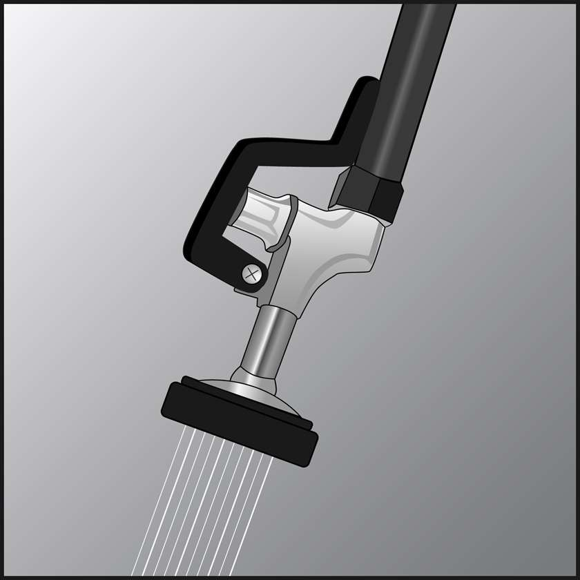 An illustration of a Pre-Rinse Spray Valves