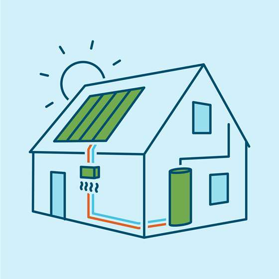 Energy efficiency and solar are key to savings
