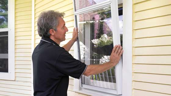 Install storm windows & doors