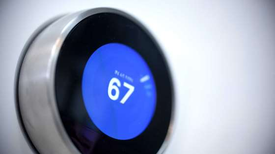 A thermostat that learns and helps you save